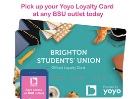 Pick up a Yoyo Loyalty card today