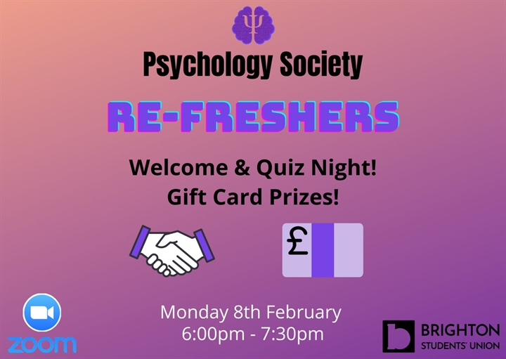 Refreshers welcome & quiz!