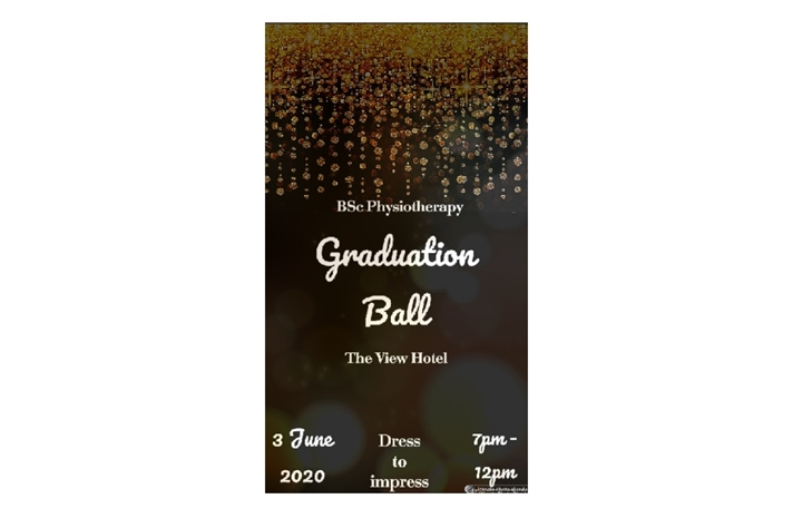 BSC Physiotherapy Graduation Ball 2020
