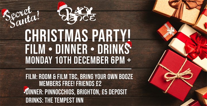 BDance Christmas Party!