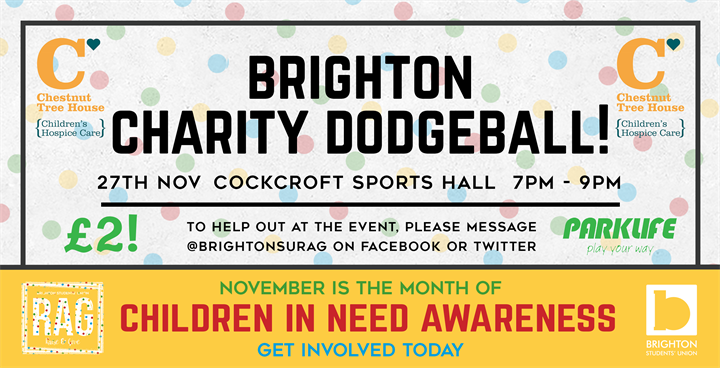 Charity Dodgeball Tournament - Brighton