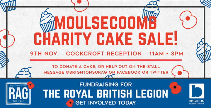 Moulsecoomb Charity Cake Sale - Royal British Legion