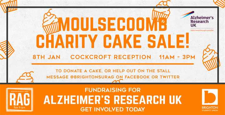 Moulsecoomb Charity Cake Sale - Alzheimers Research UK