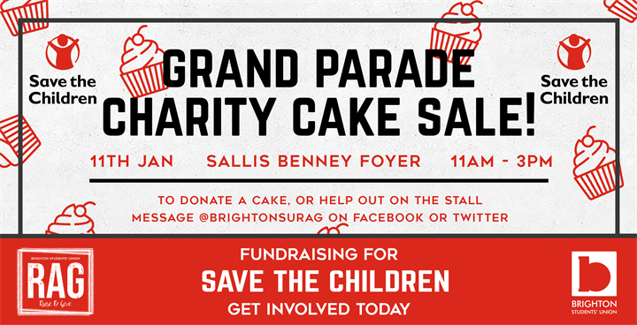 Grand Parade Charity Cake Sale - Save the Children
