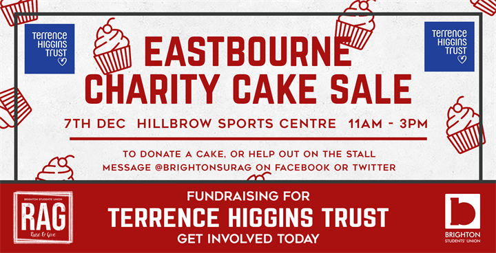 Eastbourne Charity Cake Sale - HIV & AIDS Awareness!