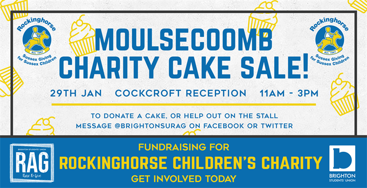 Moulsecoomb Charity Cake Sale - Rockinghorse Children's Charity