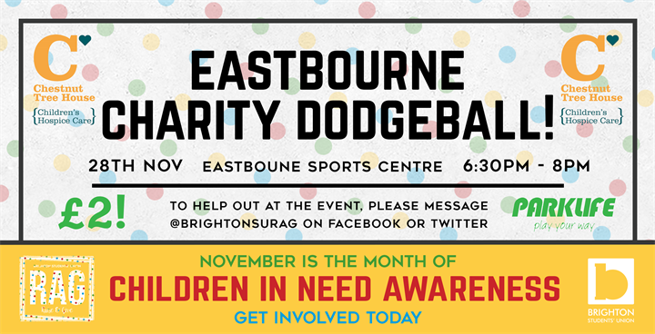 Charity Dodgeball Tournament - Eastbourne