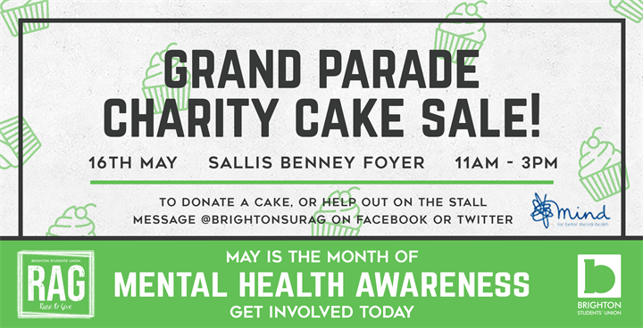 Charity Cake Sale! - Grand Parade Campus