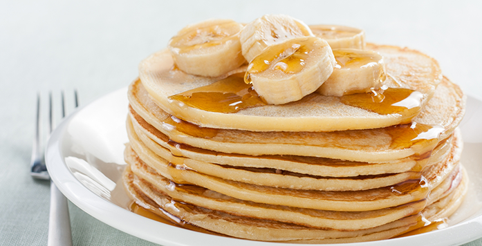 Let's Go Bananas! (free pancakes at Basement Central)
