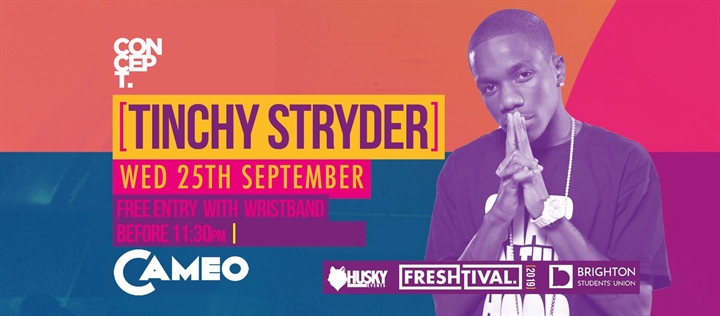 Tinchy Stryder at Cameo - Official Freshtival 2019