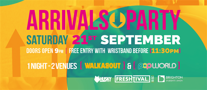 Arrivals Party - Official Freshtival 2019