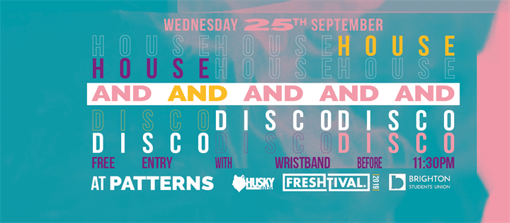 House and Disco at Patterns - Official Freshtival 2019