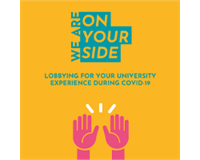 Lobbying for your University experience during COVID-19.
