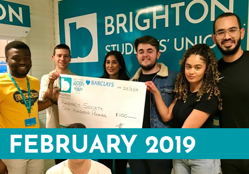 Pharmacy Society of the Month February' 19